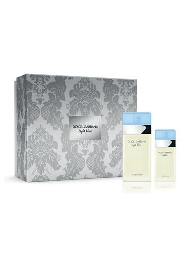 Dolce&Gabbana Light Body Lotionue Edt 100+Edt 25 Ml Kadin Parfüm Set Renksiz